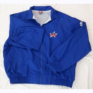 Nike USA Hockey coach's windbreaker jacket